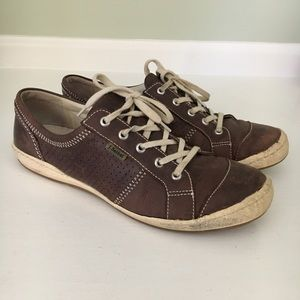 Josef Seibel Caspiano Leather Sneakers